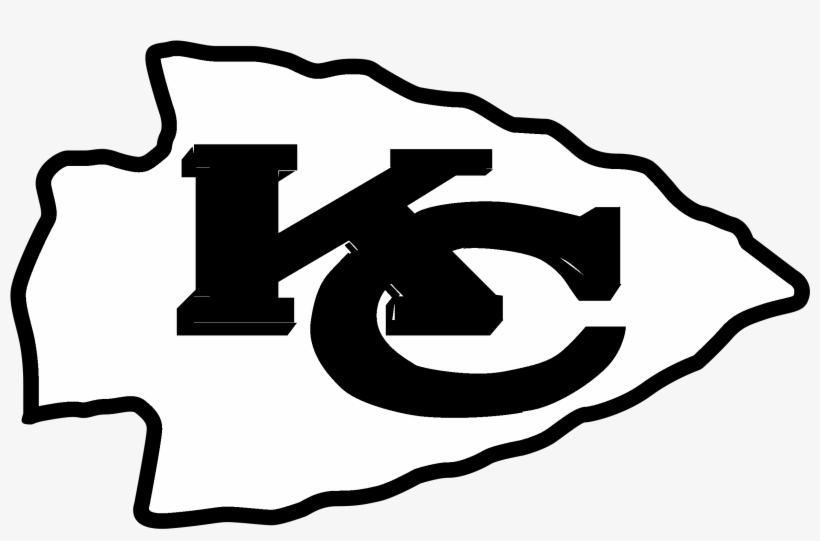 Kansas City Chiefs Logo Black And Ahite Kansas City Chiefs Clipart Png Image Transparent Png Free Download On Seekpng