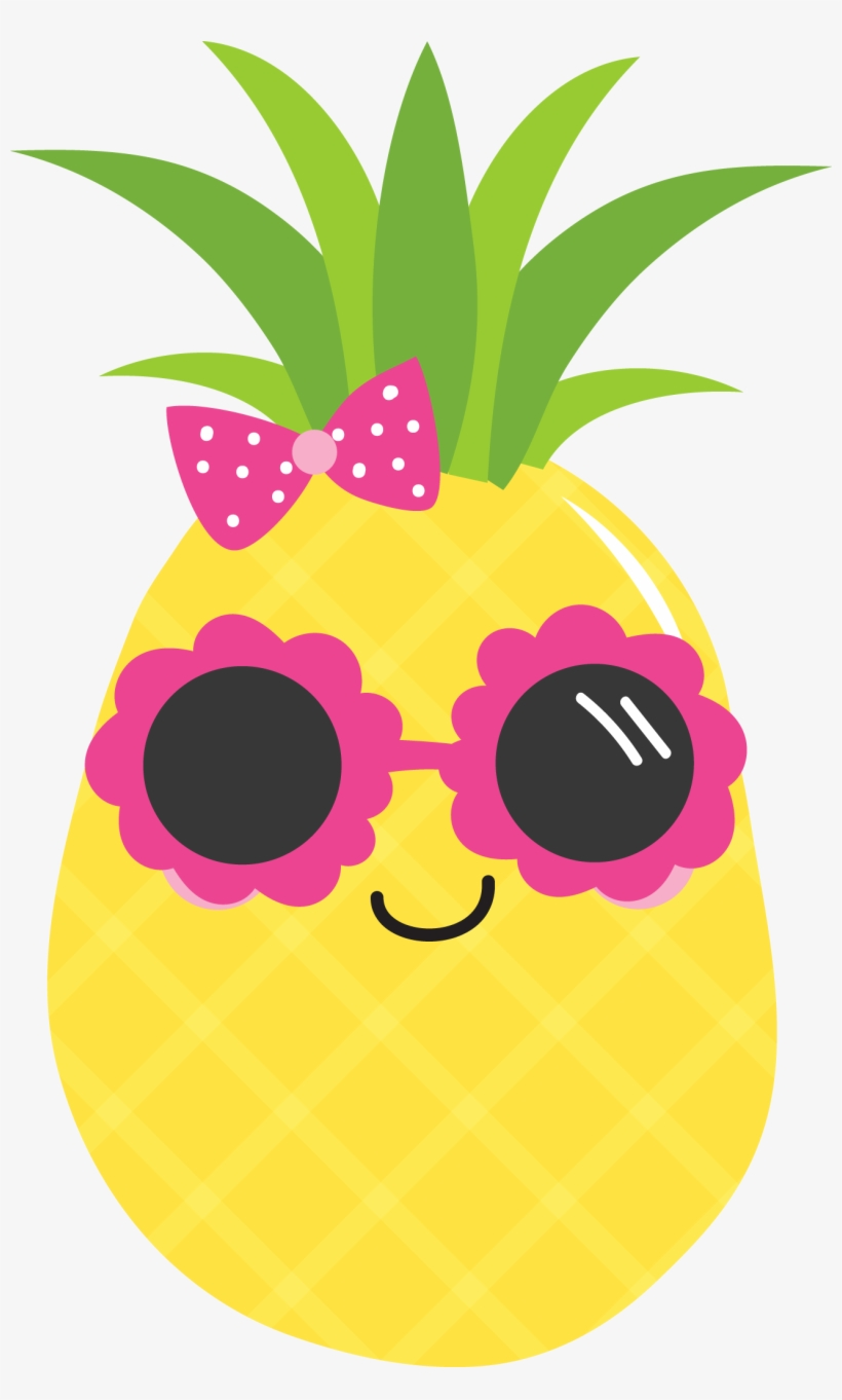 Pineapple Luau Food Clip Art - Pineapple Png Clipart PNG ...