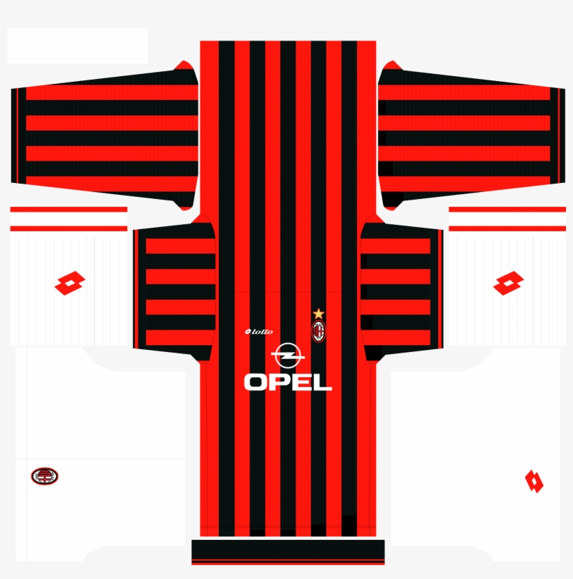 c0e116b11 Ac Milan Opel Kit For Pes 2016 By Nanho PNG Image