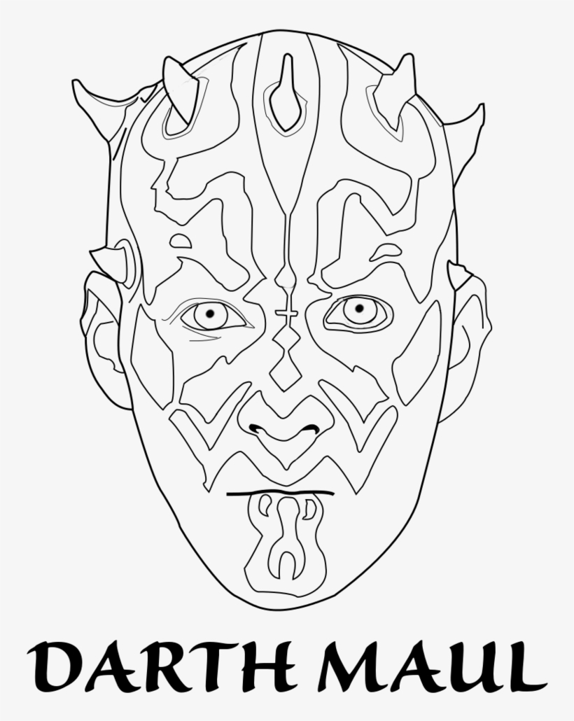 Lego Star Wars Coloring Pages Darth Maul - Star Wars Darth ...