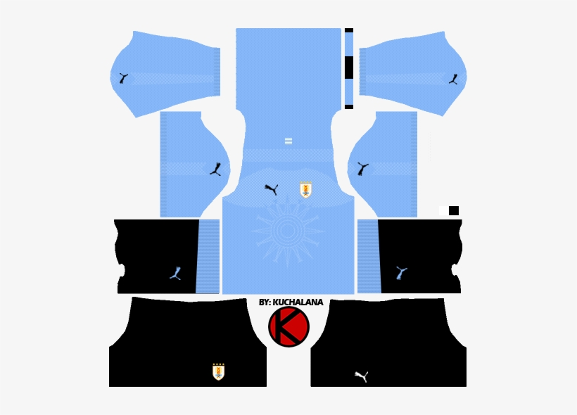 924b93d153a Uruguay 2018 World Cup Kits - Kit Italy Dream League Soccer 2018 PNG ...