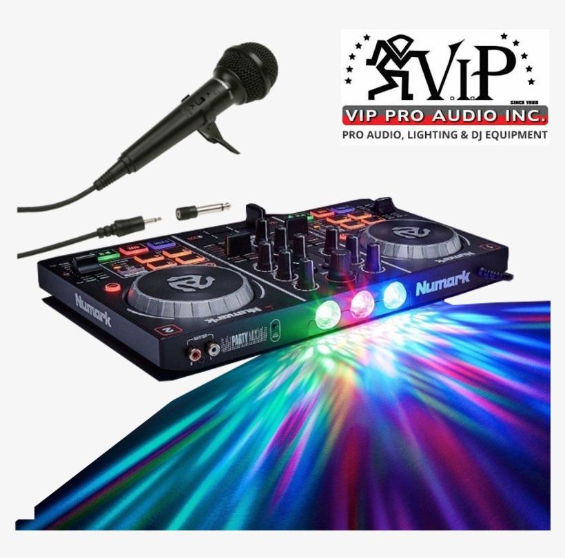 Details About Numark Party Mix Dj Controller W/ Built-in