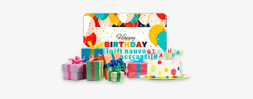 Happy Birthday Gift Card Png Image Transparent Png Free Download