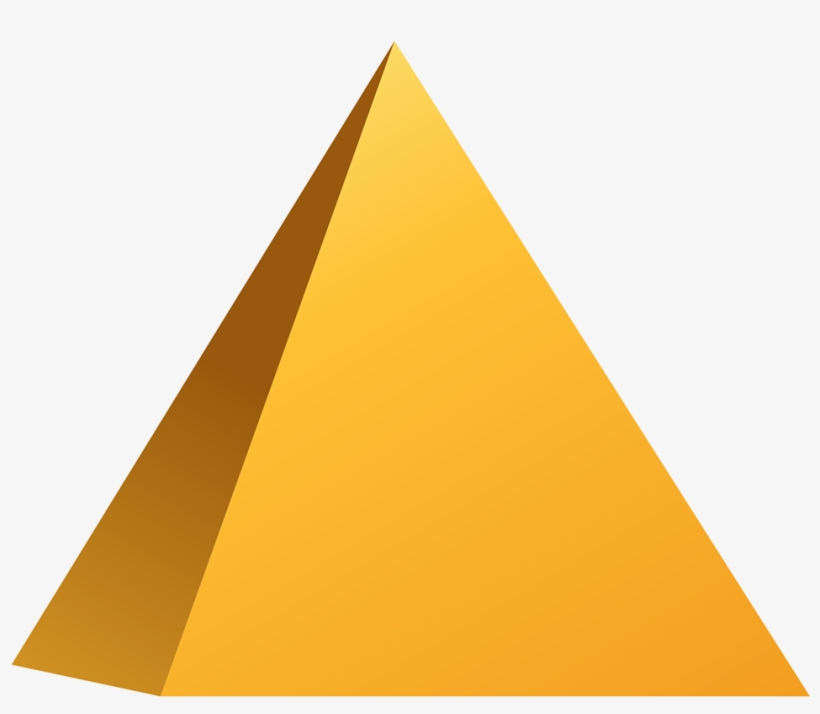 3d Pyramid Image - Triangle Png@seekpng.com