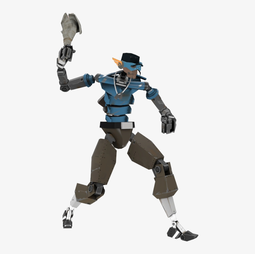 Scoutbot Super Team Fortress 2 Robot Scout Png Image Transparent Png Free Download On Seekpng
