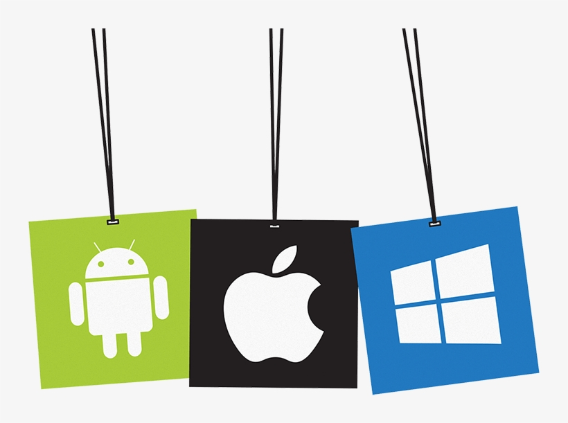 Apps - Apple Android Windows Logo PNG Image | Transparent