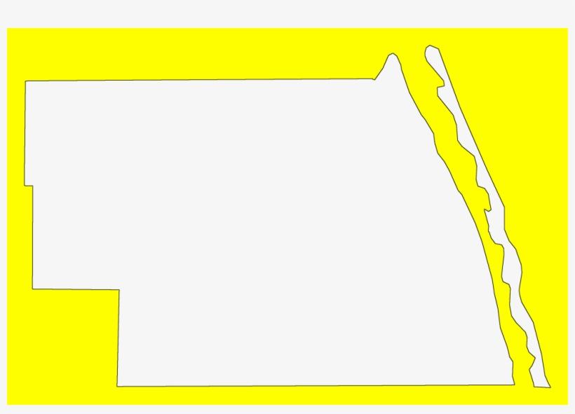 A Plain Frame Map Of Indian River - Plot PNG Image ...