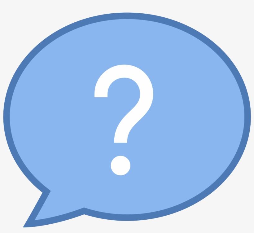 Download Facebook Messenger Windows - Blue Background Question Mark