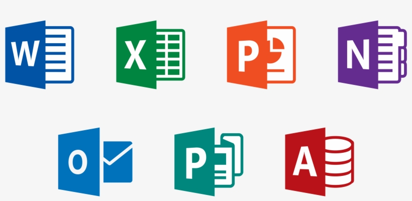 Microsoft Office 365 Product Key - Office 2016 Icons Png PNG Image