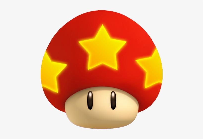 46 1 Up Mushroom Grand Star Super Mario Png Image
