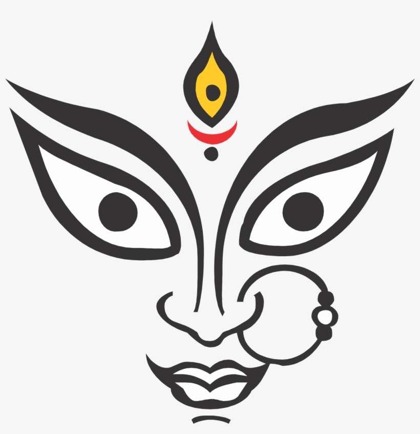 10 Durga Maa Face Hd Images Free Download Maa Durga Face Png Png Image Transparent Png Free Download On Seekpng