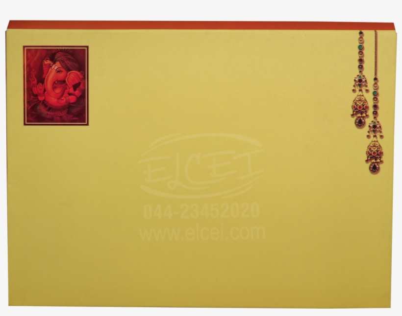 Home Hindu Wedding Cards Padding Card With Elaborate