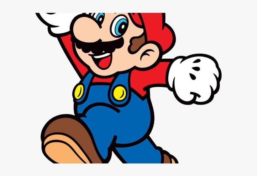 Mario jumping. Super clipart jump vector