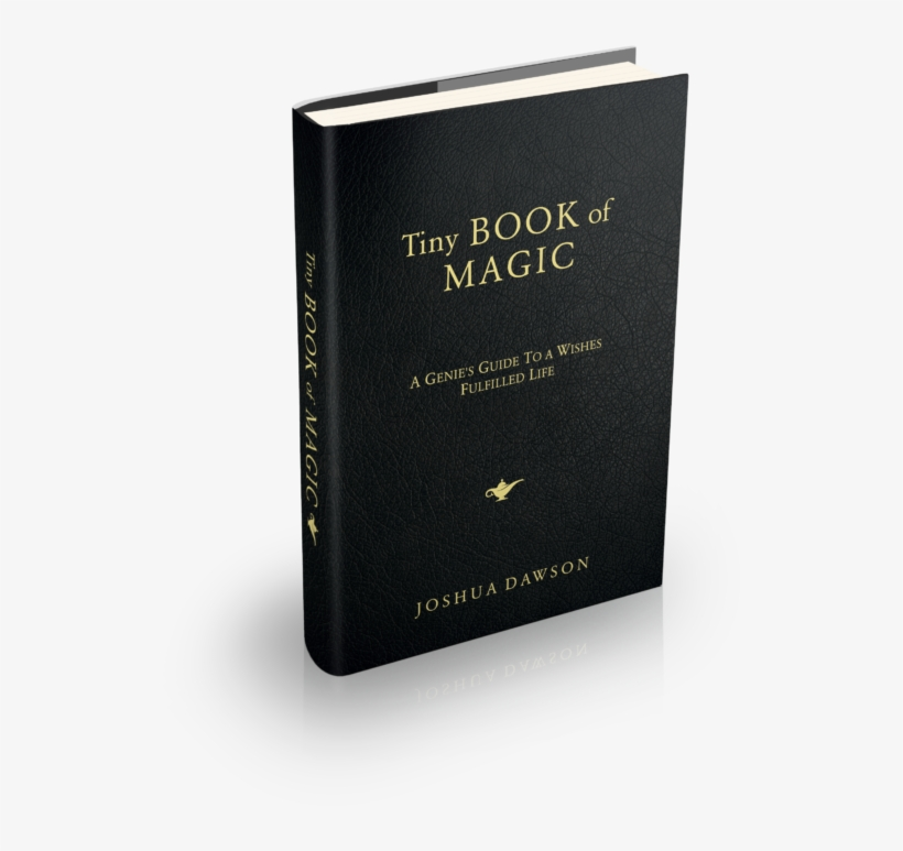 Tiny Book Of Magic - Book Cover PNG Image | Transparent PNG