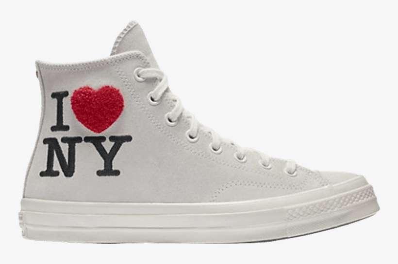 Converse Chuck 70 High Top 'i Love Ny' Love New York PNG