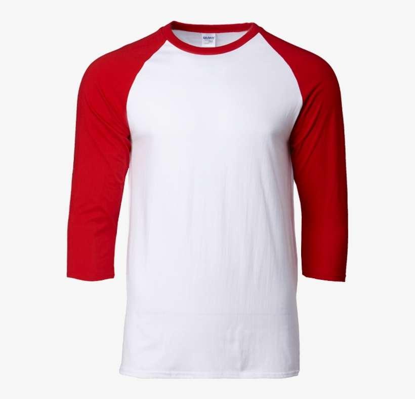WrestleMania 35 Grey//Red Raglan T-Shirt