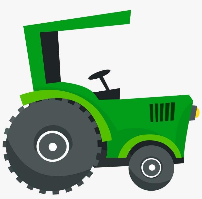 Picture Freeuse Farming Clipart Tractor Trator Fazendinha