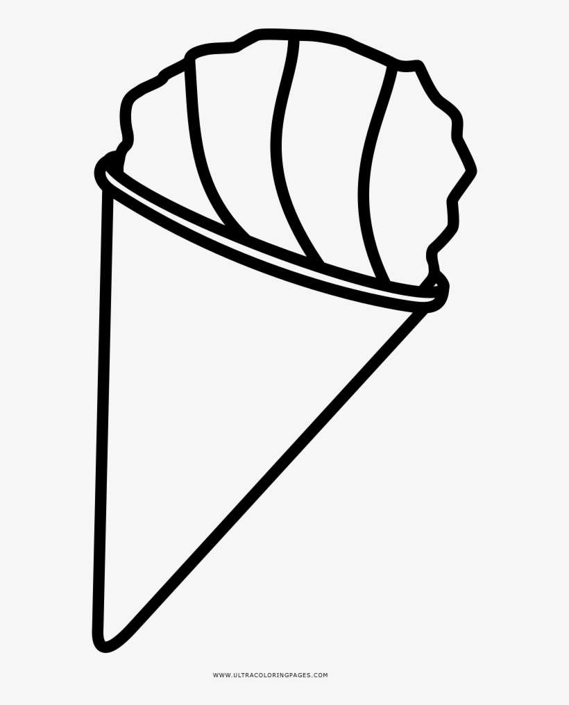snow cone coloring pages - photo#26
