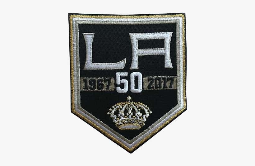 wholesale dealer 82685 bd515 La Kings Logo - Los Angeles Kings 50th Anniversary Nhl ...