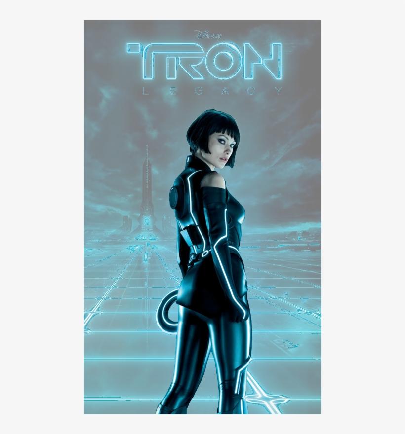 "Tron Quorra 17/""x26/"" poster print"