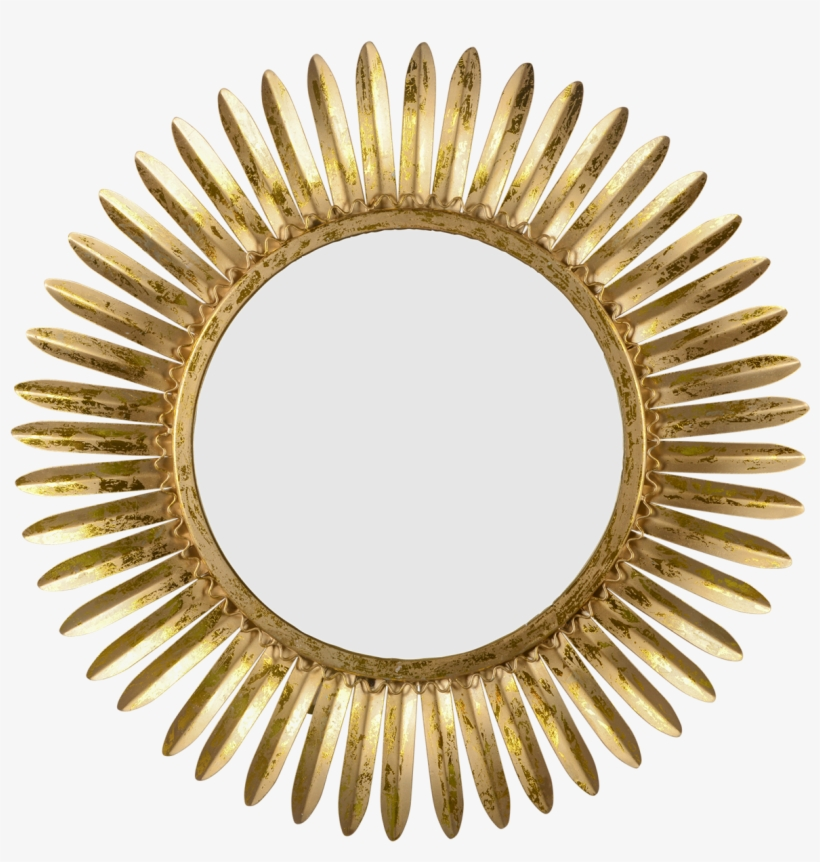 Mirror Rays Of Gold Shadow Vintage Rattan Hand Mirror Png Image Transparent Png Free Download On Seekpng