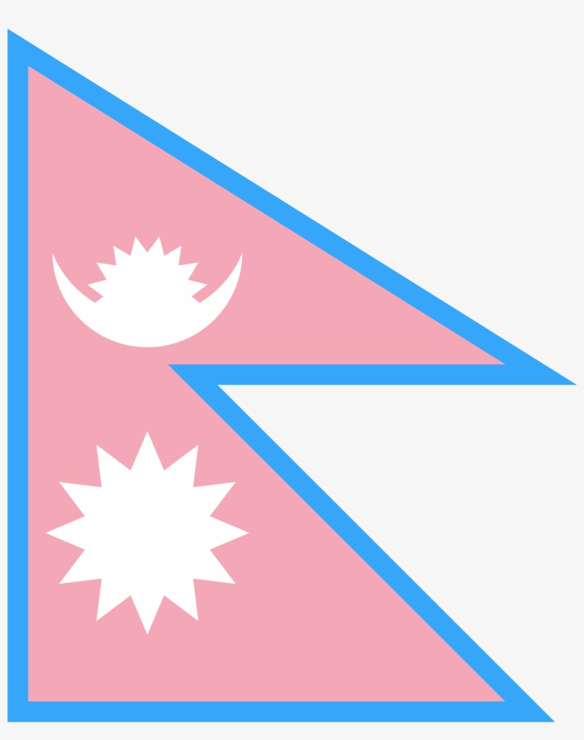 More Flags Here - Nepal Flag And Map PNG Image | Transparent ...