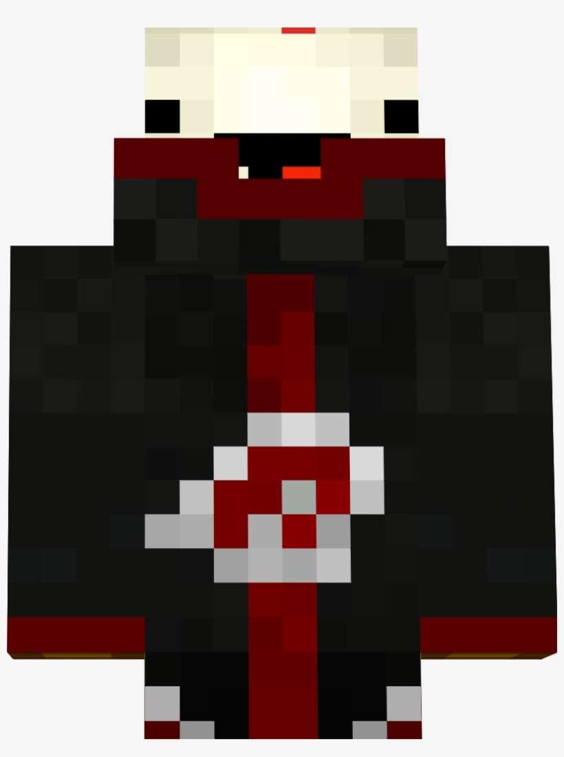 Minecraft Derp Cake Skin - Minecraft Uchiha Symbol PNG Image