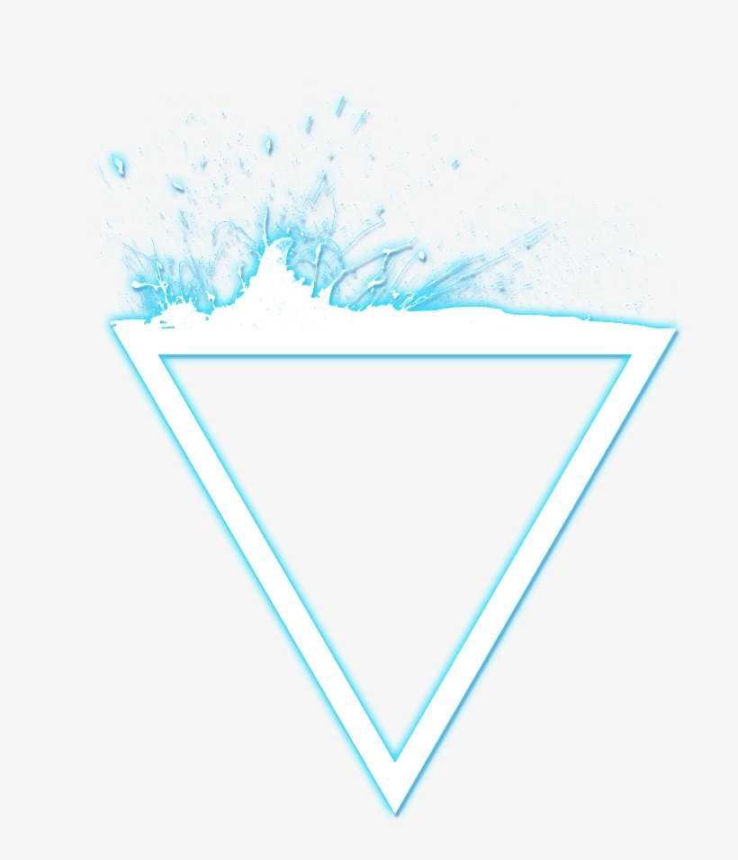 Glowing Triangle Png Download