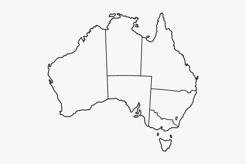 Australia Map Template.Australia Map Template Map Of Australia Outline Png Image