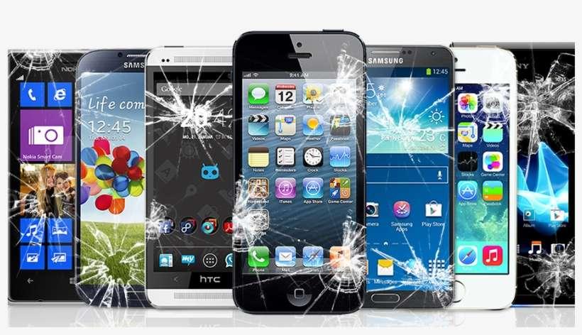 Broken Phones - Mobile Repairing Png Logo@seekpng.com