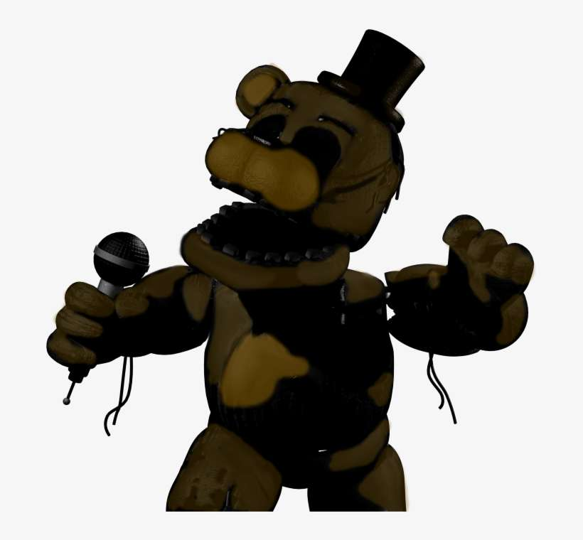 28 Collection Of Withered Golden Freddy Drawing - Fnaf 3