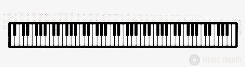 Piano Keys 88 Layout@seekpng.com