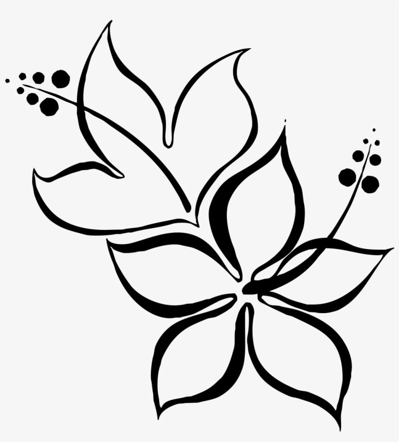 Gladiolus Flower Drawing - Beautiful Easy Flower Drawing@seekpng.com