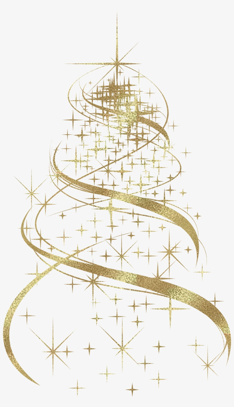 Christmas Tree Transparent Background.Design Clipart Christmas Tree Pencil And In Color Design