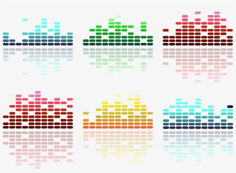 Vector Royalty Free Sound Waves Graphics Transprent