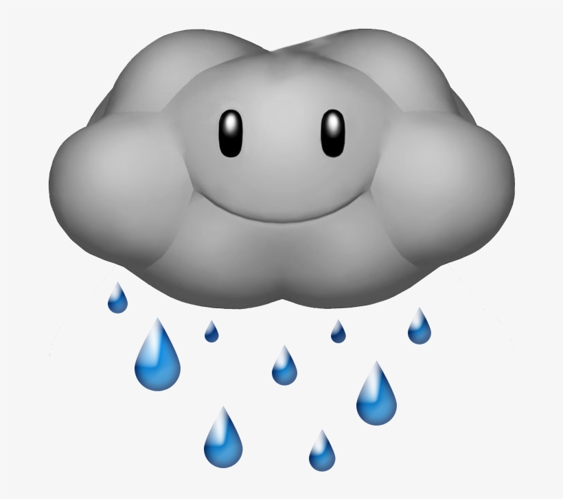 Raindrop - Rain Cloud Gif Png@seekpng.com