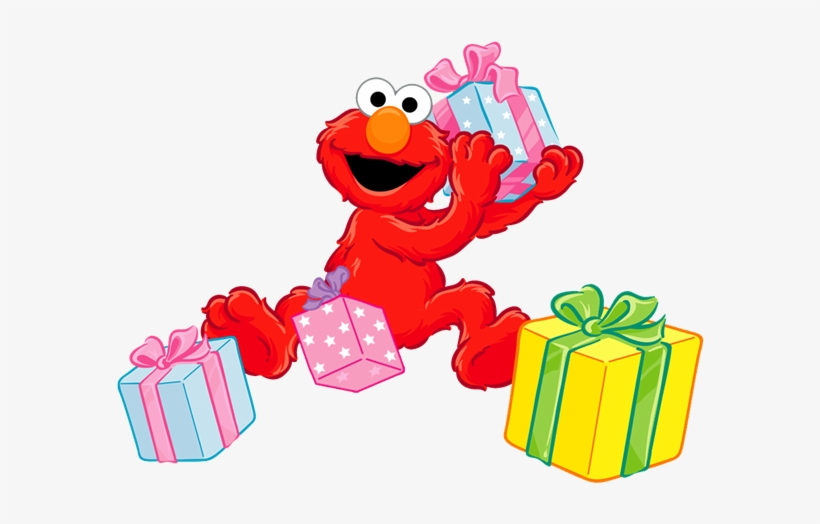 Elmo Or Abby Cadabby Photo Invitation