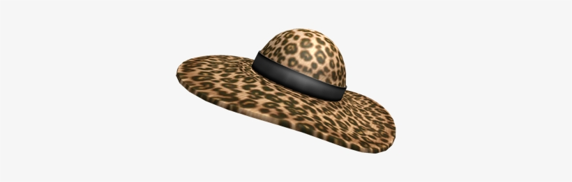 Leopard Socialite Hat Ssocialite Roblox Png Image Transparent