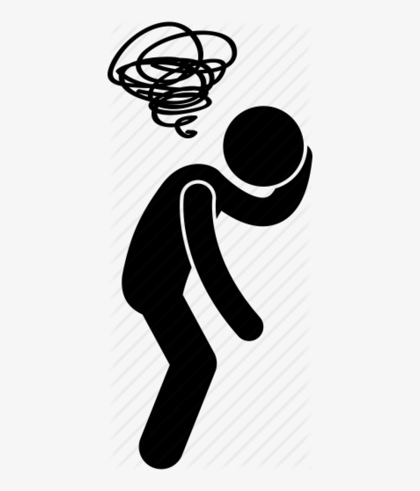 Blur Dizzy Fed Up Headache Illustration Png Image Transparent Png Free Download On Seekpng