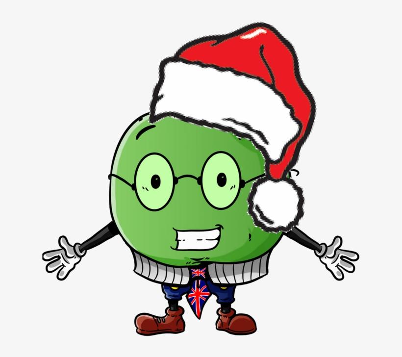 Christmas Hat Cartoon Transparent.Christmas English Cartoon Christmas Hat Png Image