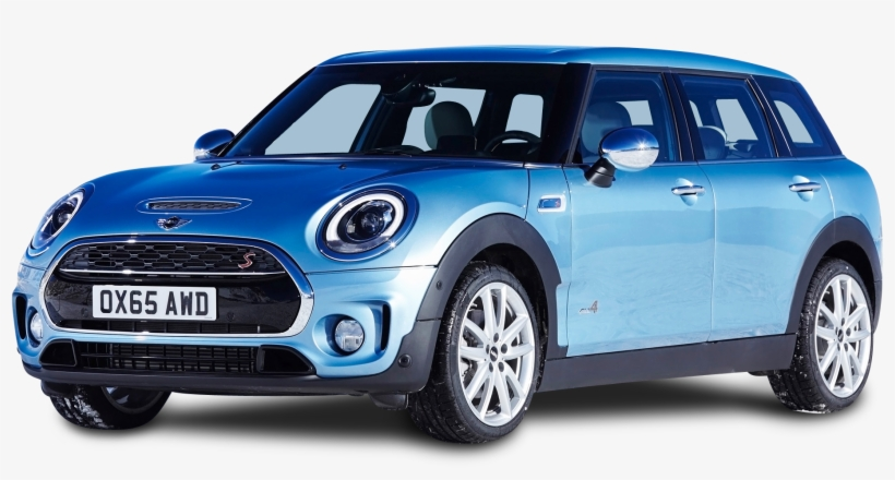 Mini Clubman Bleu Png Image Transparent Png Free Download On Seekpng