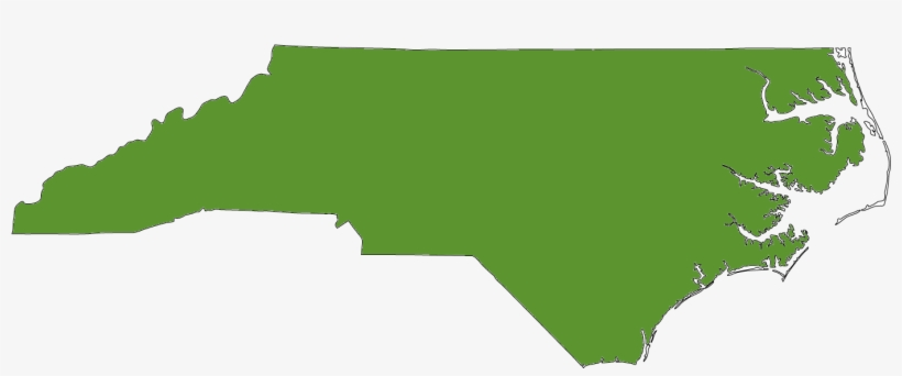 Map State Nc Green Square North Carolina Outline Png Image Transparent Png Free Download On Seekpng