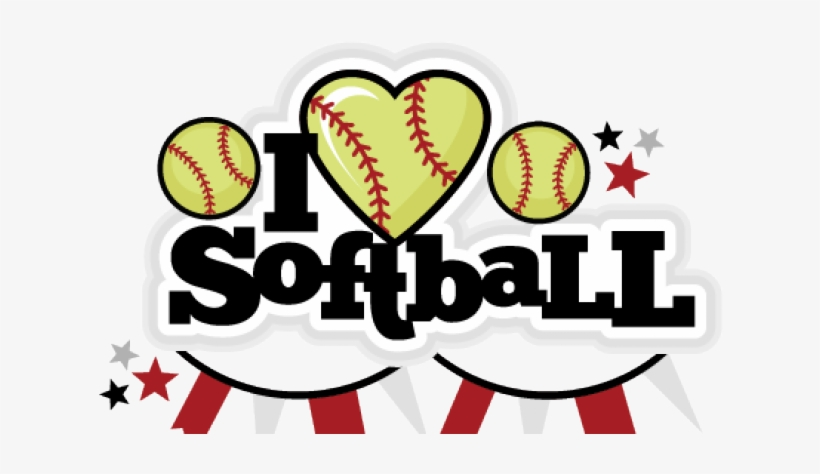Softball love. Design clipart basketball png