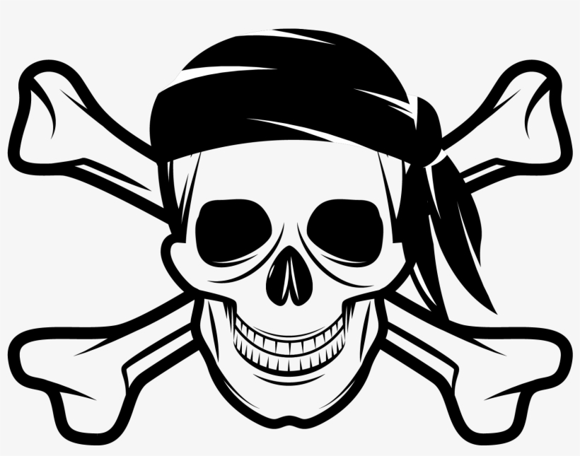 Pirates Skull And Crossbones - Skull And Crossbones Pirate Png PNG Image | Transparent PNG Free Download on SeekPNG