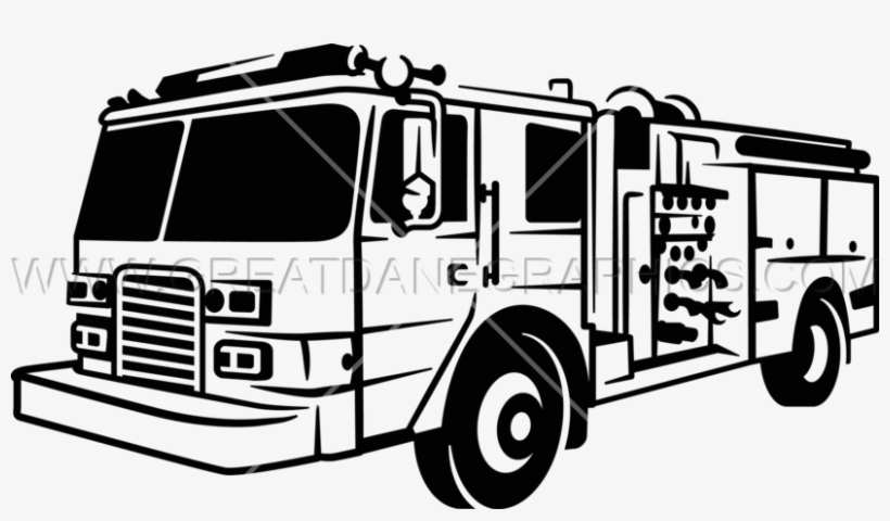 Fire Truck Production Ready Clip Art Free Library