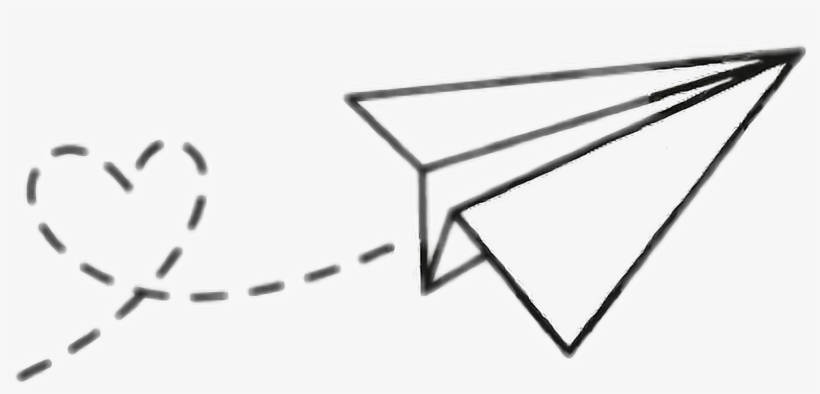 paper airplane png transparent