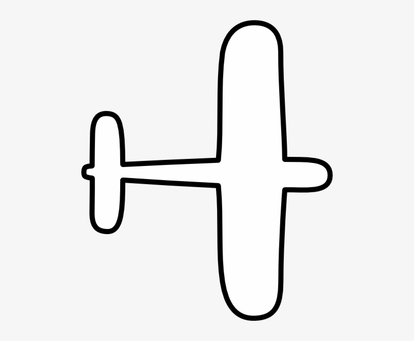 Cartoon Airplane Stencil Easy To Draw Ww2 Planes Png Image