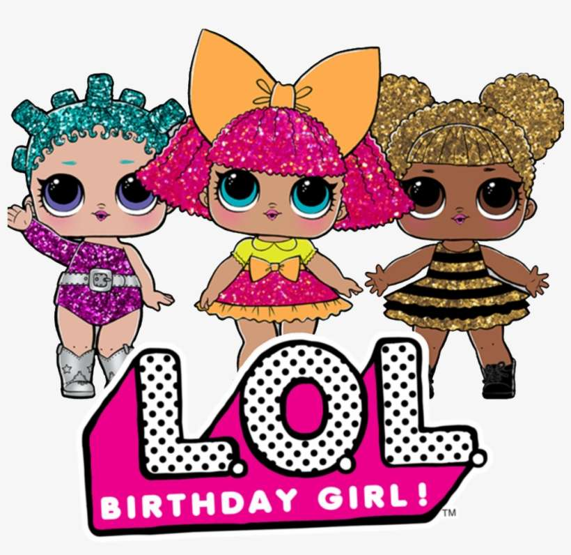 Custom Lol Surprise Dolls Birthday Girl T Lol Surprise