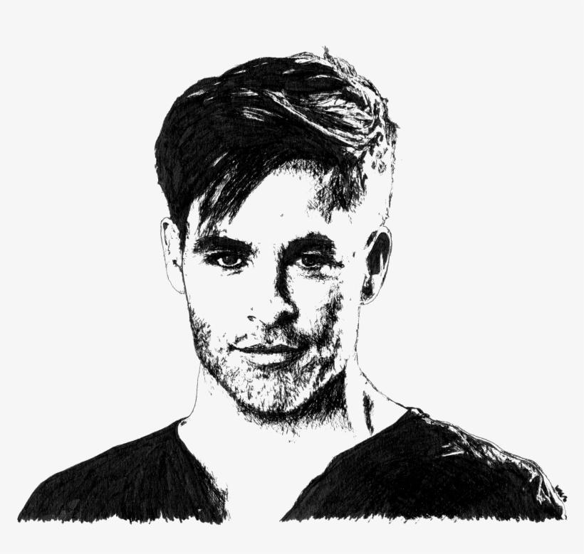 Chris Pine Sketch Png Image Transparent Png Free Download On Seekpng
