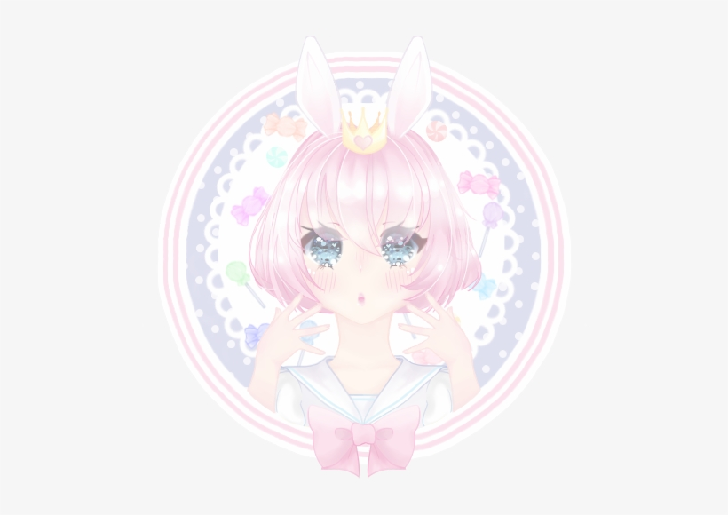 Kawaii Candy Sweets Anime Girl Pastel Profile Picture - Cute Anime
